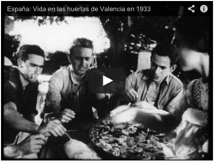 Video de Paella en 1933