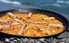 Recette de la Fideua sur la plage de valencia
