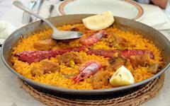 Recette de la Paella Mixte poulet et fruits de mer