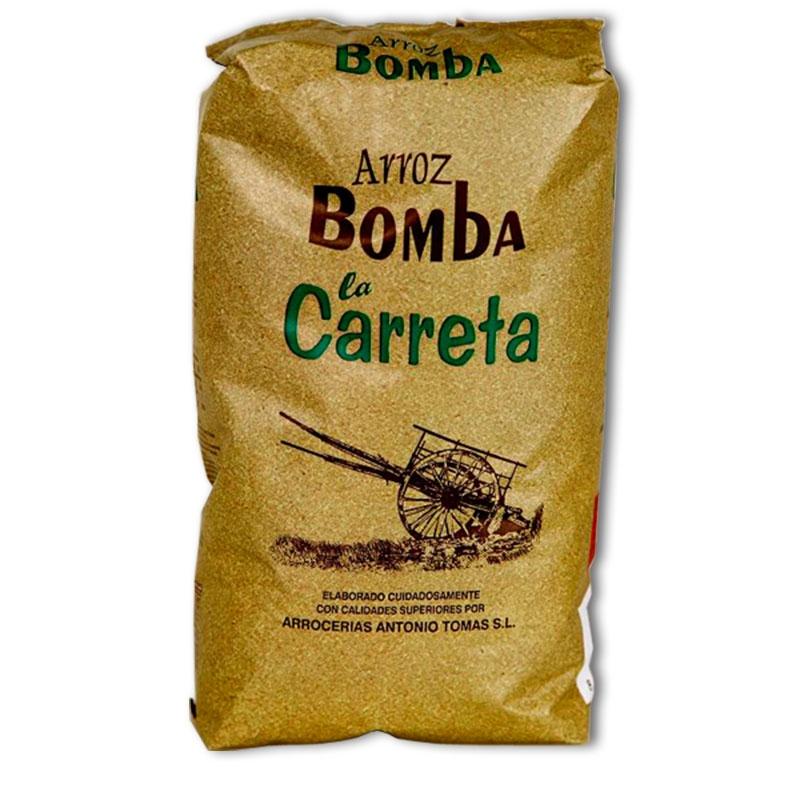 La bible de la paella riz bomba 1kg de la albufera de valencia marque santo tomas la carreta b