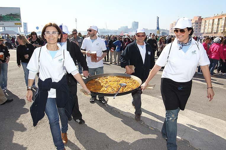 Concours de Paella a valencia maritimo