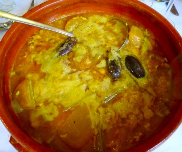 Recette du Riz Caldoso aux Haricots et Navets