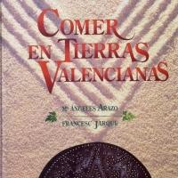 """Livre sur la Paella """"Commer en tierras Valencianas"""""""