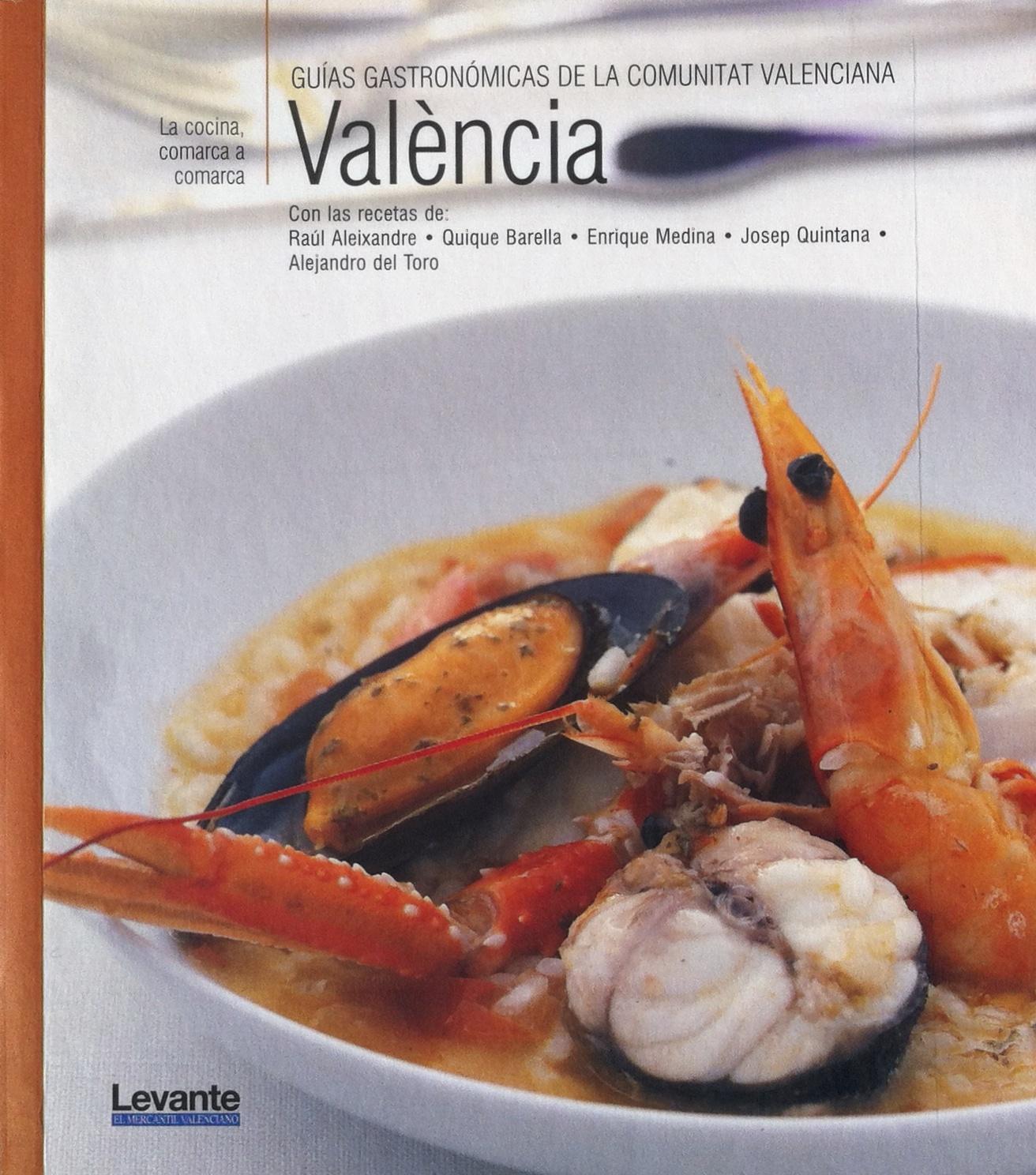 "Livre sur la Paella ""Guis gastronomicas de la comunitat Valenciana"""