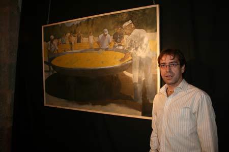 Tableau de Paella de Juan Diego Oliva García El día de la paella