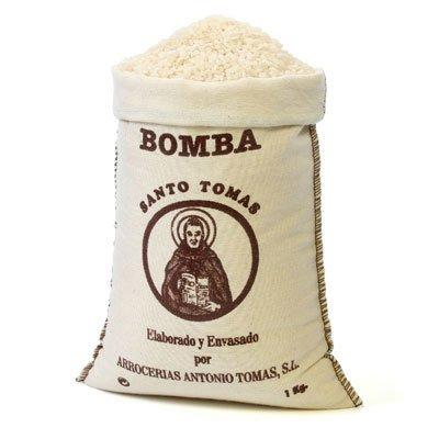arroz bomba para la Paella