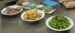 Una buena preparación de sus ingredientes para una paella auténtica