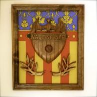 Cadre de la Senera et du logo du Valencia Club de Footbal