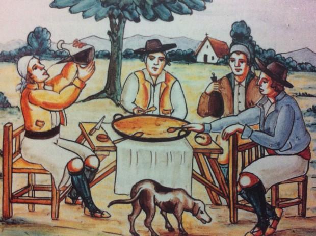 El ritual de la Paella - Azulero de la Casa de Valencia en Madrid