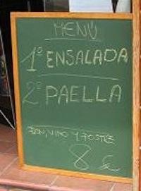 La paella del jueves al menú en los restaurantes españoles