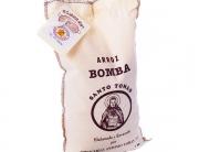 La bible de la paella riz bomba 1kg de la albufera de valencia marque santo tomas et poele
