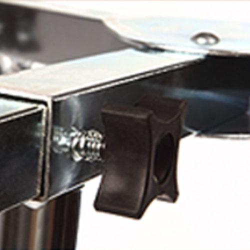 trépied réglable pour réchauds à gaz pour paella détails