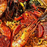 Recette de la paella Andalouse au chorizo