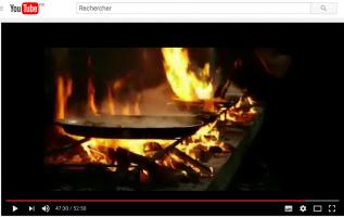 Vidéo de recette de la paella Valenciana au feu de bois